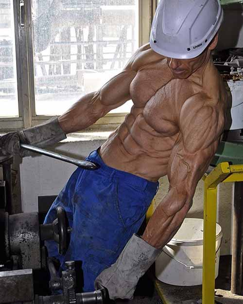 Working Hard, Build muscle.