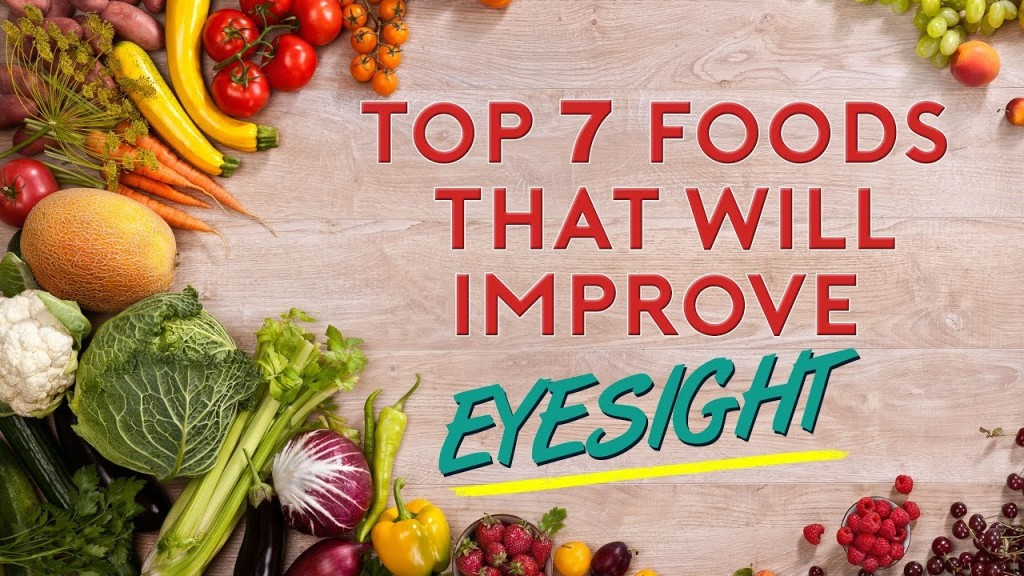 Foods That Can Boost Your Eye Health