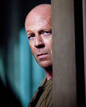 John McClane (Bruce Willis) of the Die Hard films proves you don't need hair to be the baddest dude on the planet.